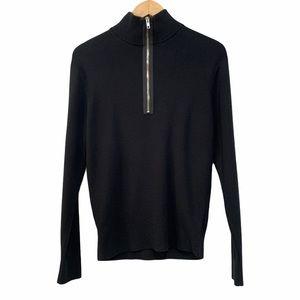 Calibrate Men's 1/4 Zip Pullover Knit Sweater